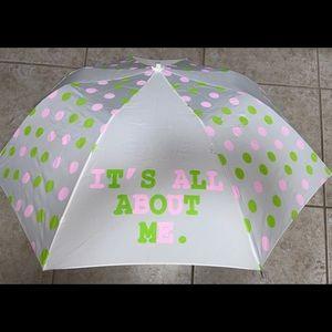 """David & Goliath """"It's All About Me"""" Small Umbrella"""